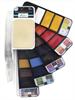 Akvarelliviuhka + vesisivellin 25 väriä Nassau Fine Art