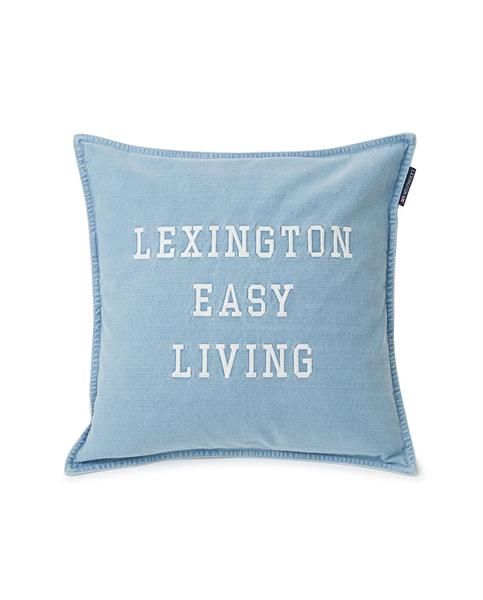 Lexington Denim Easy Living Cotton Pillow Cover