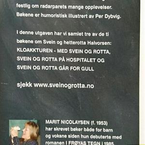 Svein og rotta - 3 bøker i én