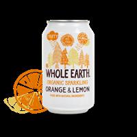 Whole Earth Appelsiini-Sitruuna limu 330 ml LUOMU