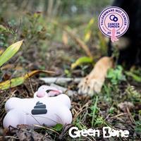 Green Bone bajspåsar med hållare Rosa