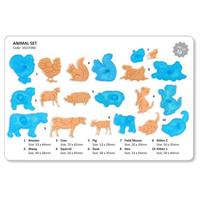 JEM Utstikkersett Animal Set 10 deler