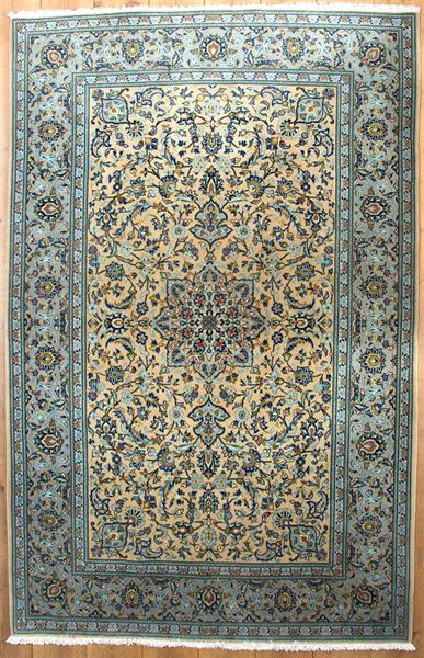 3098 Kashan panj rang 200 x 130