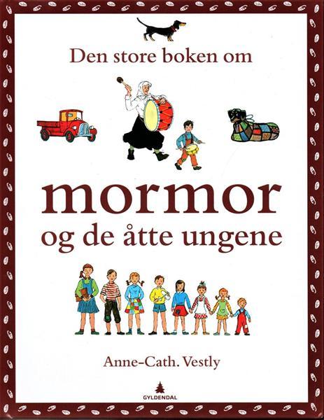 Den store boken om mormor og de åtte ungene