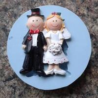 Silikonform Bryllup 2