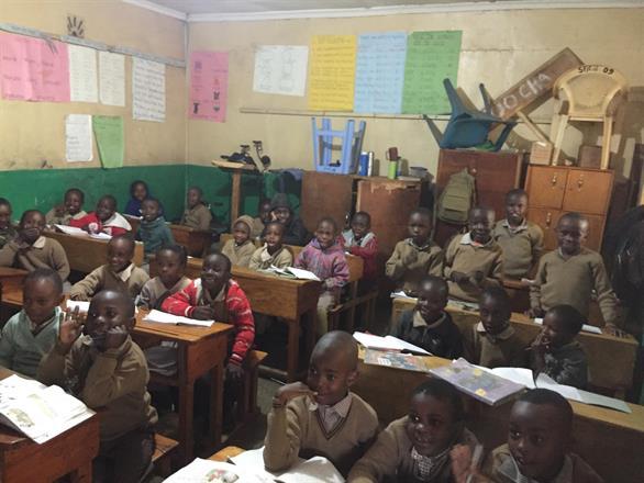 Precious Talents Top School - one of the classes