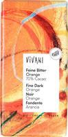 Suklaalevy Vivani tumma appelsiinilla 100 g, luomu
