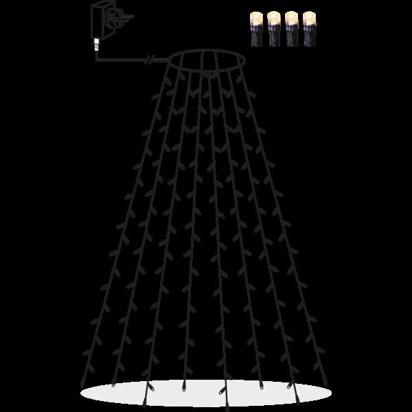 Julgranslinga Tree Light x160led Star Trading