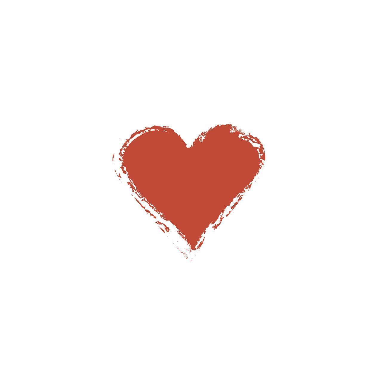 1210136, skjørt hjerte, rød
