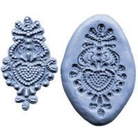 Silikonform Lace CK Bead Medallion