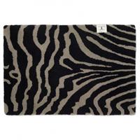 Classic Collection Doormat Zebra 60x90 Black/Grey