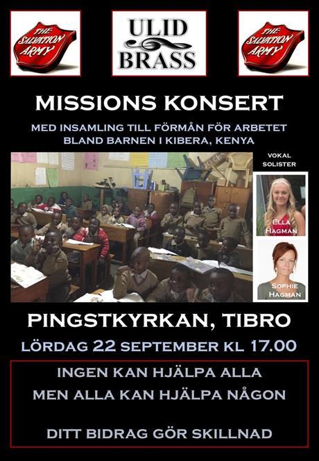 Nästa Kibera konsert / Next Kibera concert