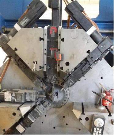 FMU 2 Maskin for vrifjærer og tråddetaljer