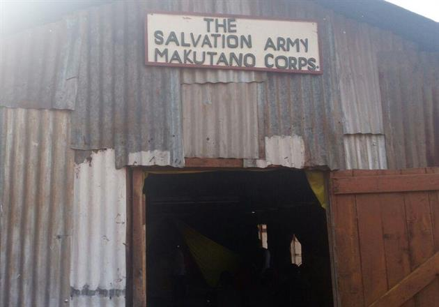 Entrance Makutano Corps