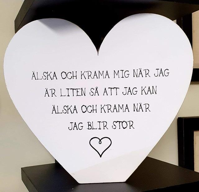 Hjärta älska och krama