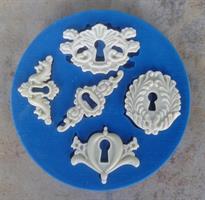 Silikonform Key Holes NM