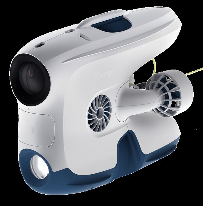 Nu representerar vi Blueye Robotics AS