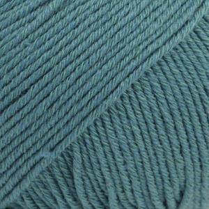 Cotton Merino Stormblå