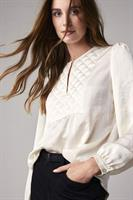 Summum Woman Top Quilted Silky Touch, Ivory
