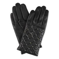 Day Leather Q-Stud Glove, Black