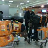 Arrival at Kenyatta Airport