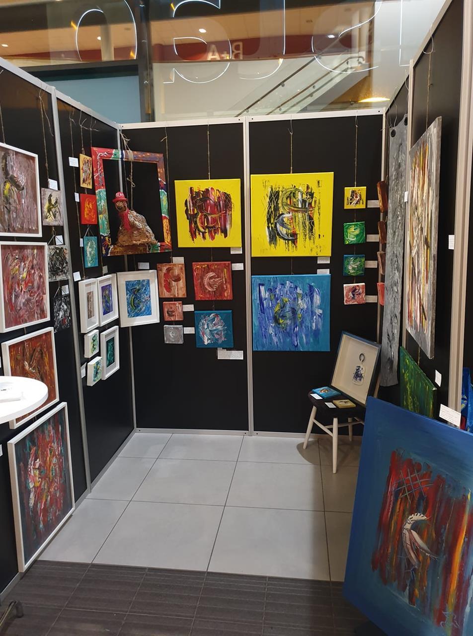 Utställning i Halmstad
