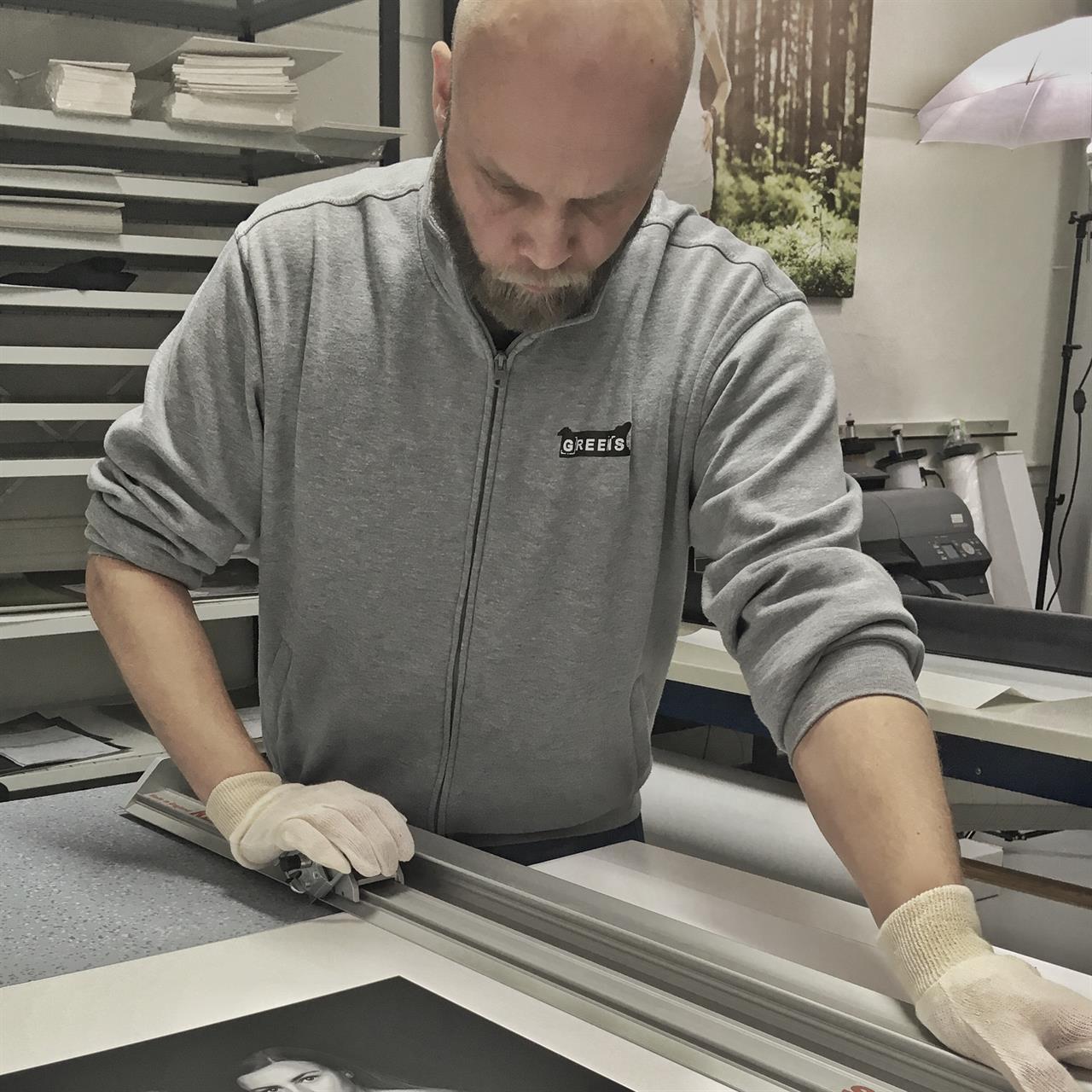 Printing til landskonkurransen i Norges Fotografforbund.