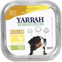 YARRAH Koiran kanapalat annosrasia 150 g, luomu