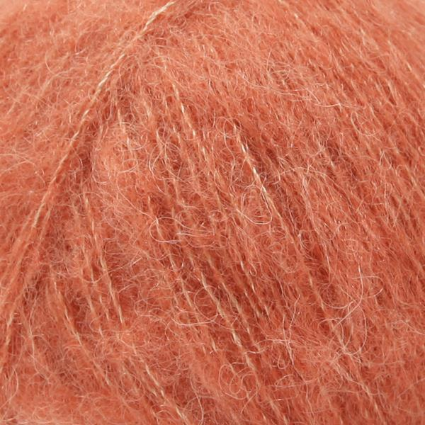 Brushed Alpaca Silk Lys rust