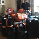 Äntligen är allt packat / Finally everything is packed