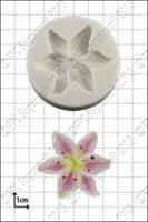 Silikonform Blomst Lilje FPC