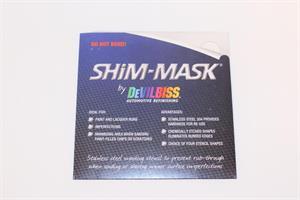 DeVilbiss Maskerings-shims 3pk