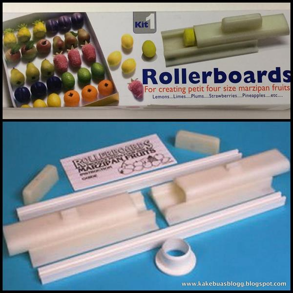 PME Rollerboard nr. 1 for marsipanfrukt (sitron/jordbær)