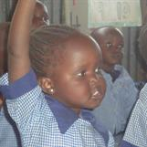 2012 - Kibera Nursary School - inside class 1