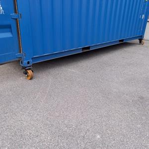 Container hjul , 1400 kg.