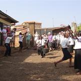 S.A. Kibera entré / entrance