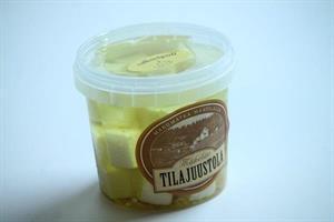 Salaattijuusto öljyssä valkosipuli 170 g