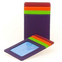 Kreditkortsfodral stående nr.128 Purple Haze Mywalit