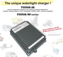 WP2420  NETTLADER, 24v, 20A, TYSTOR
