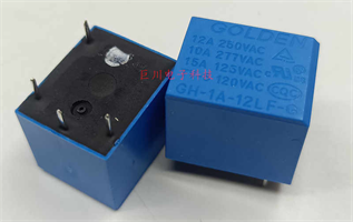 GH-1A-12LF-G  relee 12A 250vAC, brukt