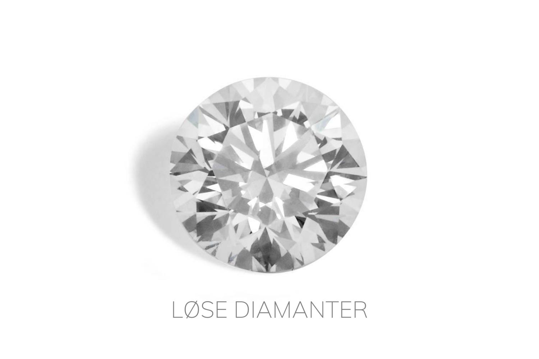 LØSE DIAMANTER / Juveler MSJ