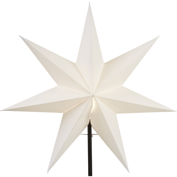 Julstjärna Frozen vit 54cm Star Trading