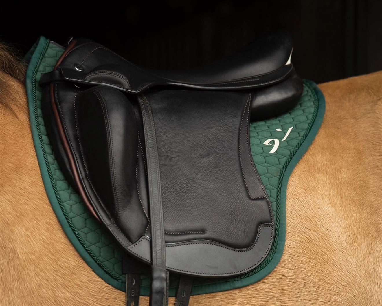 Schalock Denni Design Mattes Grön med Saddle-Fix