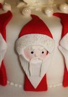 Utstikkersett Father Christmas, 3 deler KB