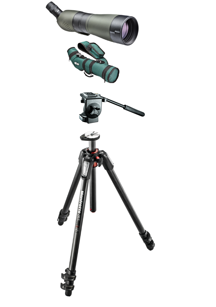 Meopta S1-75 HD skivekikkert pakke