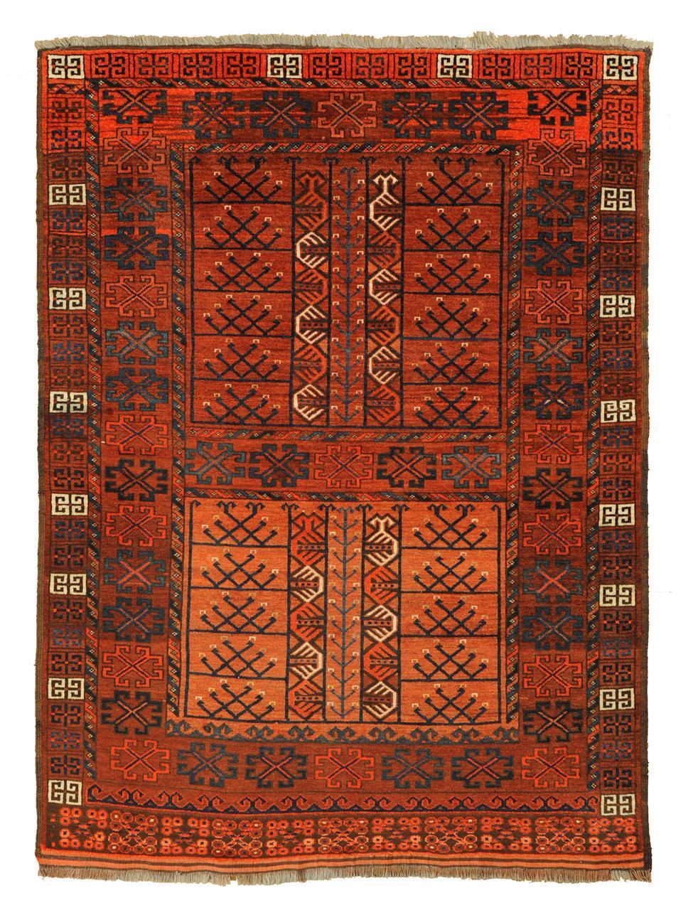 340 Afghan Ersari pardah 180 x 132