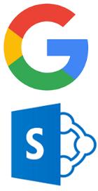 Ledelsessystemer basert på Google G Suite eller Office 365 / SharePoint