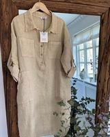 Piro Linen Dress, Corda