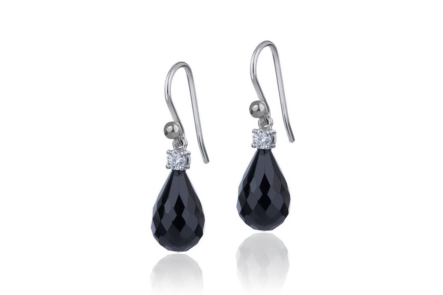 Onyx + diamonds