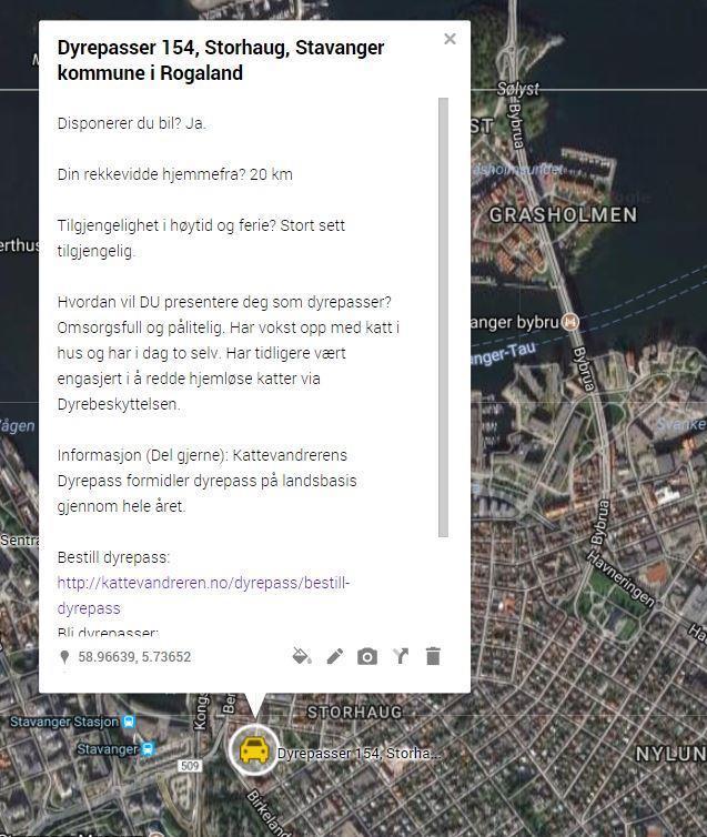 Dyrepasser 154, Storhaug, Stavanger kommune i Rogaland